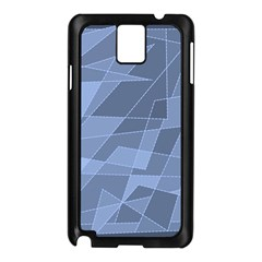 Lines Shapes Pattern Web Creative Samsung Galaxy Note 3 N9005 Case (black)