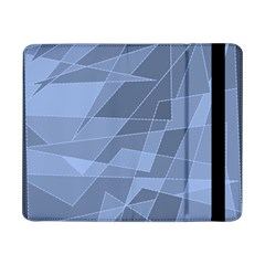 Lines Shapes Pattern Web Creative Samsung Galaxy Tab Pro 8 4  Flip Case