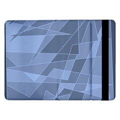 Lines Shapes Pattern Web Creative Samsung Galaxy Tab Pro 12 2  Flip Case