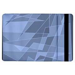 Lines Shapes Pattern Web Creative Ipad Air Flip
