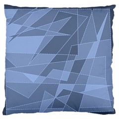 Lines Shapes Pattern Web Creative Large Flano Cushion Case (one Side)