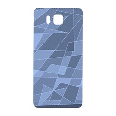 Lines Shapes Pattern Web Creative Samsung Galaxy Alpha Hardshell Back Case