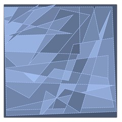 Lines Shapes Pattern Web Creative Large Satin Scarf (square)