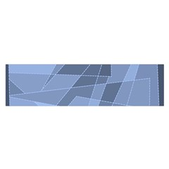 Lines Shapes Pattern Web Creative Satin Scarf (oblong)