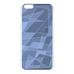 Lines Shapes Pattern Web Creative Apple Seamless iPhone 6 Plus/6S Plus Case (Transparent)