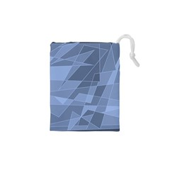 Lines Shapes Pattern Web Creative Drawstring Pouches (xs)
