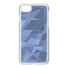 Lines Shapes Pattern Web Creative Apple Iphone 7 Seamless Case (white)