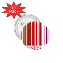 Code Data Digital Register 1 75  Buttons (10 Pack)