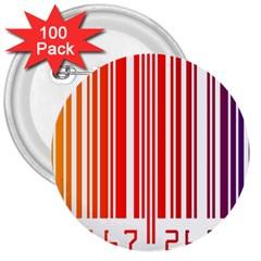 Code Data Digital Register 3  Buttons (100 pack)