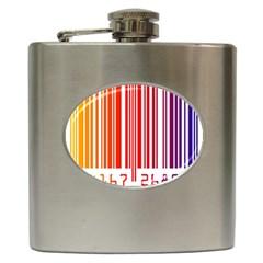 Code Data Digital Register Hip Flask (6 Oz)