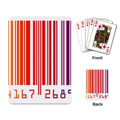 Code Data Digital Register Playing Card