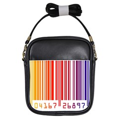 Code Data Digital Register Girls Sling Bags