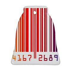 Code Data Digital Register Bell Ornament (two Sides)
