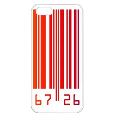 Code Data Digital Register Apple Iphone 5 Seamless Case (white)