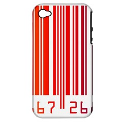 Code Data Digital Register Apple Iphone 4/4s Hardshell Case (pc+silicone)