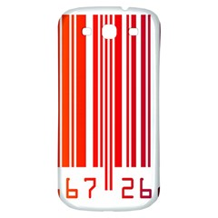 Code Data Digital Register Samsung Galaxy S3 S Iii Classic Hardshell Back Case