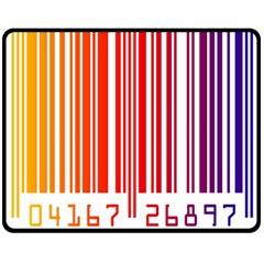 Code Data Digital Register Double Sided Fleece Blanket (medium)