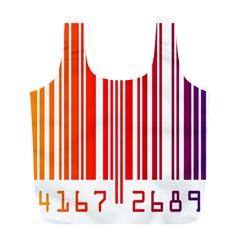 Code Data Digital Register Full Print Recycle Bags (l)