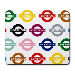 Underground Signs Tube Signs Large Mousepads