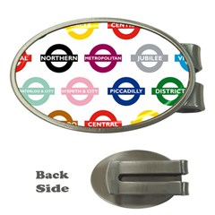 Underground Signs Tube Signs Money Clips (oval)