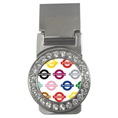 Underground Signs Tube Signs Money Clips (CZ)