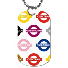 Underground Signs Tube Signs Dog Tag (two Sides)