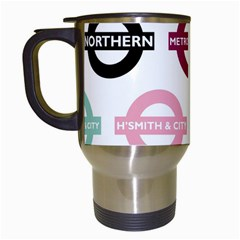 Underground Signs Tube Signs Travel Mugs (white)