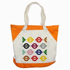 Underground Signs Tube Signs Accent Tote Bag