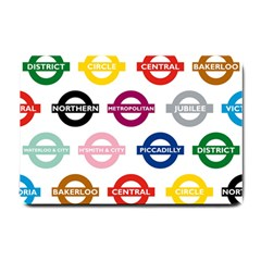 Underground Signs Tube Signs Small Doormat