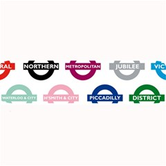 Underground Signs Tube Signs Large Bar Mats