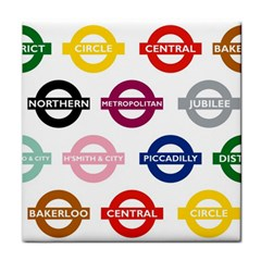 Underground Signs Tube Signs Face Towel