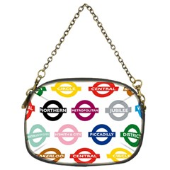 Underground Signs Tube Signs Chain Purses (Two Sides)