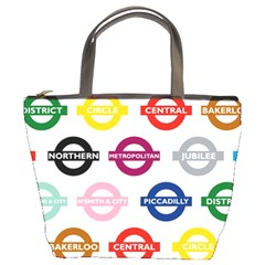 Underground Signs Tube Signs Bucket Bags