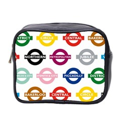 Underground Signs Tube Signs Mini Toiletries Bag 2 Side