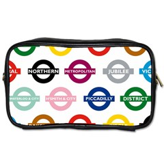 Underground Signs Tube Signs Toiletries Bags
