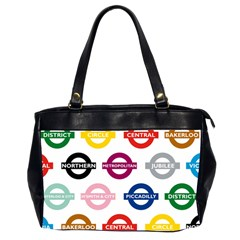 Underground Signs Tube Signs Office Handbags (2 Sides)