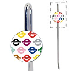 Underground Signs Tube Signs Book Mark