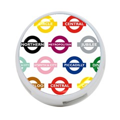 Underground Signs Tube Signs 4 Port Usb Hub (two Sides)