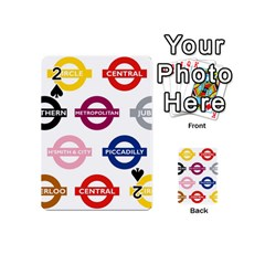 Underground Signs Tube Signs Playing Cards 54 (Mini)