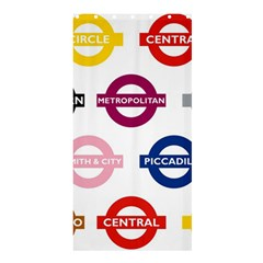 Underground Signs Tube Signs Shower Curtain 36  X 72  (stall)