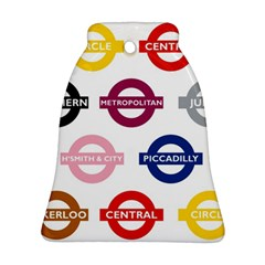 Underground Signs Tube Signs Ornament (bell)