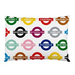 Underground Signs Tube Signs Pillow Case (two Sides)