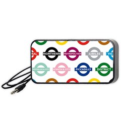 Underground Signs Tube Signs Portable Speaker (Black)