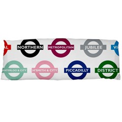 Underground Signs Tube Signs Body Pillow Case Dakimakura (two Sides)