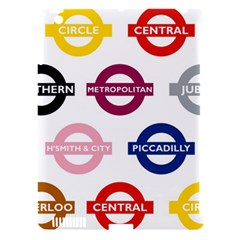 Underground Signs Tube Signs Apple Ipad 3/4 Hardshell Case (compatible With Smart Cover)