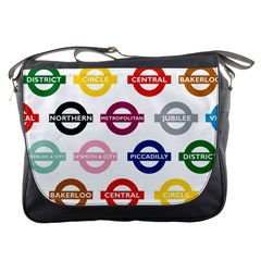 Underground Signs Tube Signs Messenger Bags