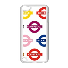 Underground Signs Tube Signs Apple Ipod Touch 5 Case (white)