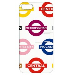Underground Signs Tube Signs Apple Iphone 5 Hardshell Case With Stand