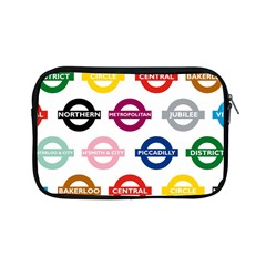 Underground Signs Tube Signs Apple iPad Mini Zipper Cases