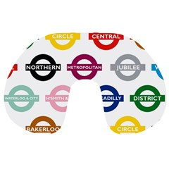 Underground Signs Tube Signs Travel Neck Pillows